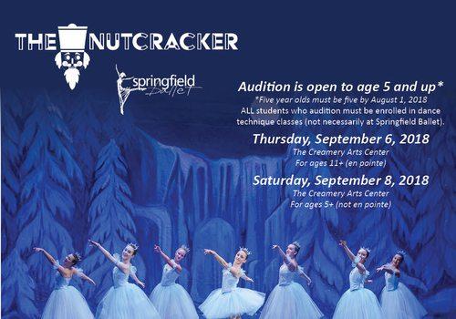 Open Auditions: Springfield Ballet's The Nutcracker