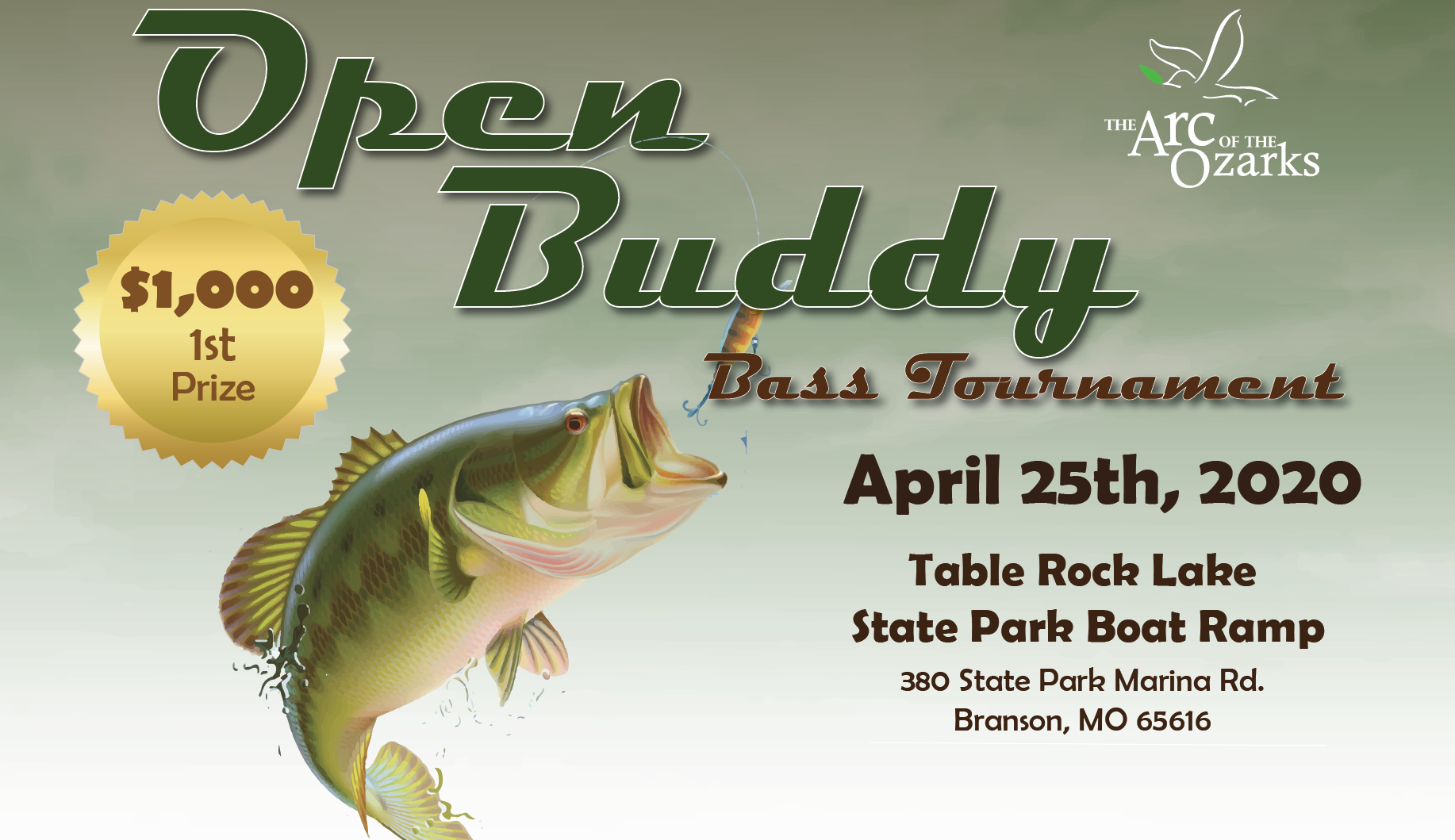 Fishing tournament in Branson, MO