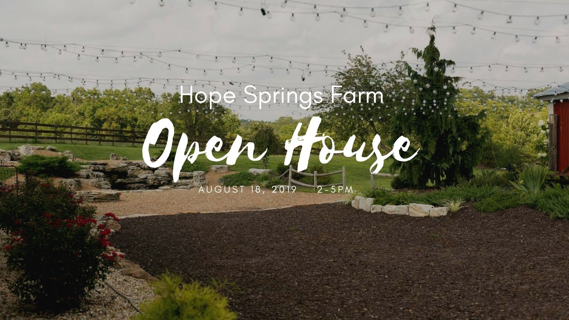 Open House in Springfield, MO.