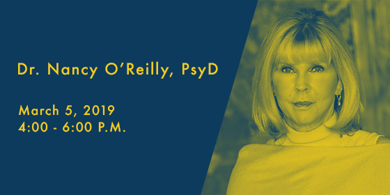 Rosie Presents An Evening with Dr. Nancy O'Reilly, PsyD