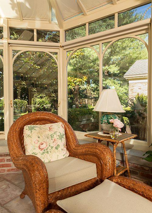 Robert and Peg Carolla's conservatory