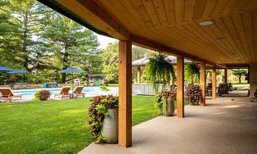 Inside Jonathan and Audrey Garards' Park-Like Backyard Paradise