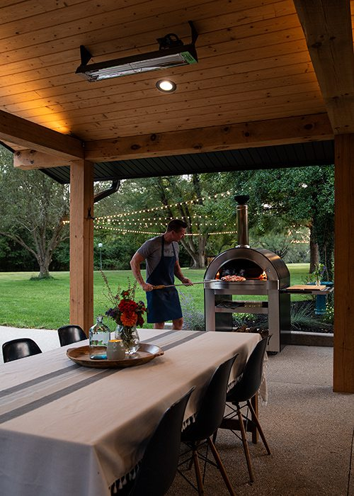 Jonathan and Audrey Garards' backyard Springfield MO