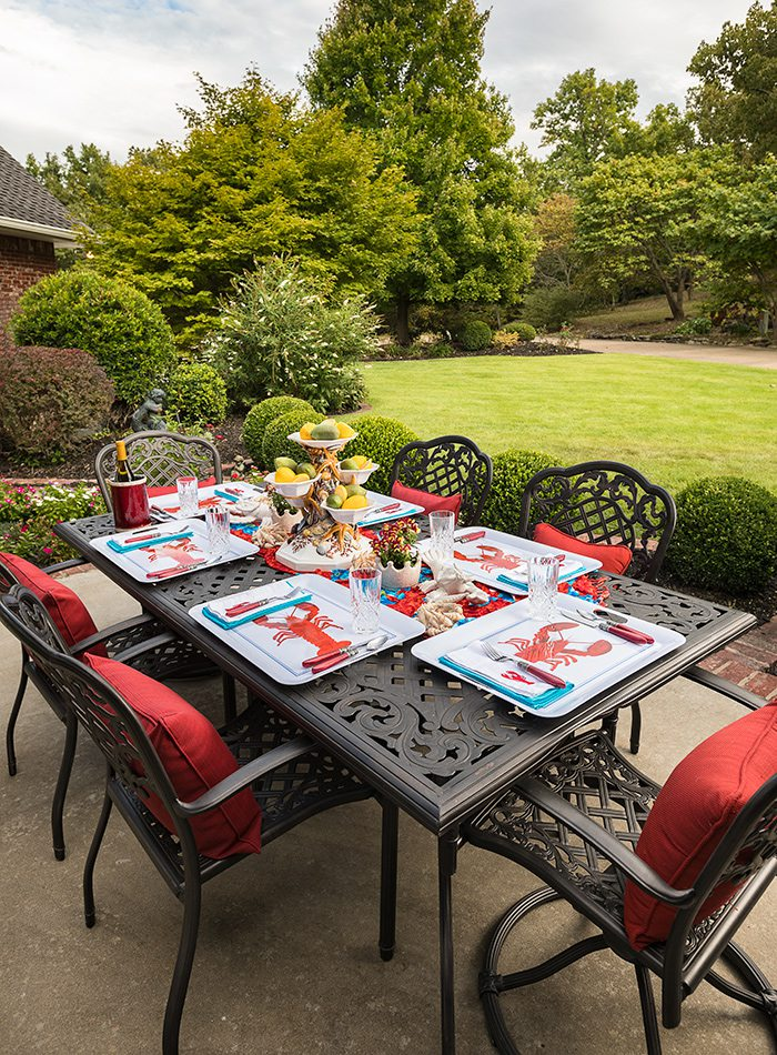 King Home - Stable Table - Outdoor Dining