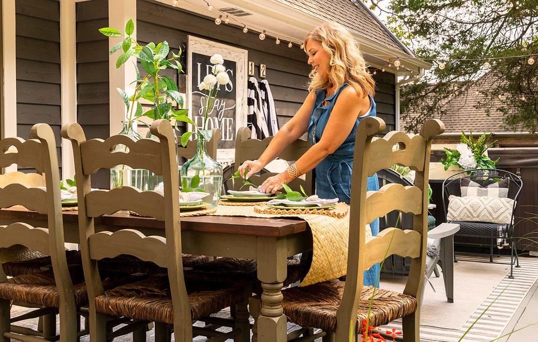 Tina Keith's backyard in Branson MO