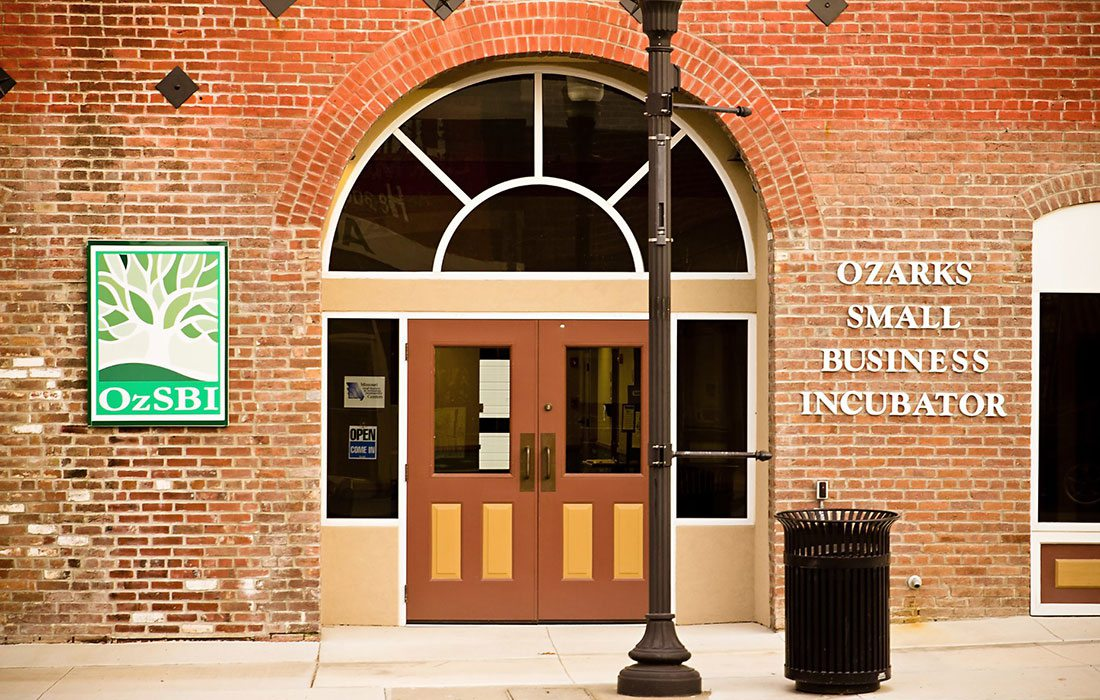 Ozarks Small Business Incubator in West Plains, MO