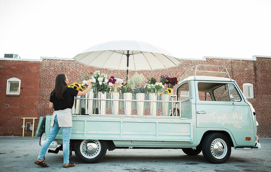 Ozark Mtn Flower Truck in Springfield MO