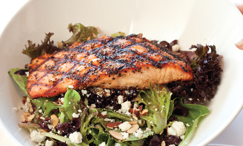 Ozark Salmon Salad from Black Oak Grill