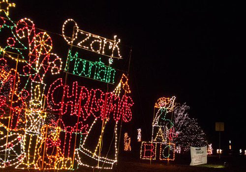 Christmas parade in Springfield, MO