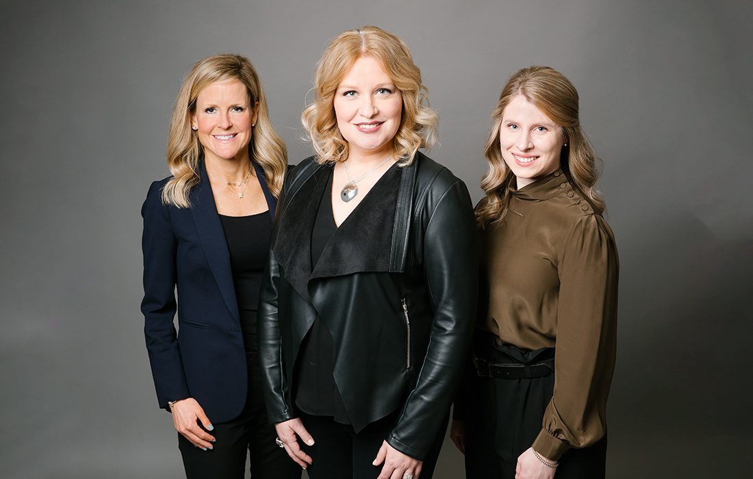 Jennifer Brodersen, Heather Rooney McBride, Mallory McDonald