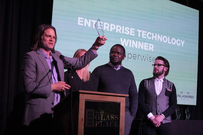 Paperwise wins the Enterprise Technology Award