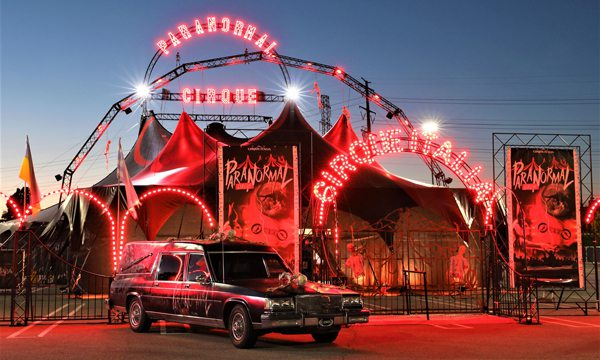 Come see the Paranormal Cirque in Springfield, MO