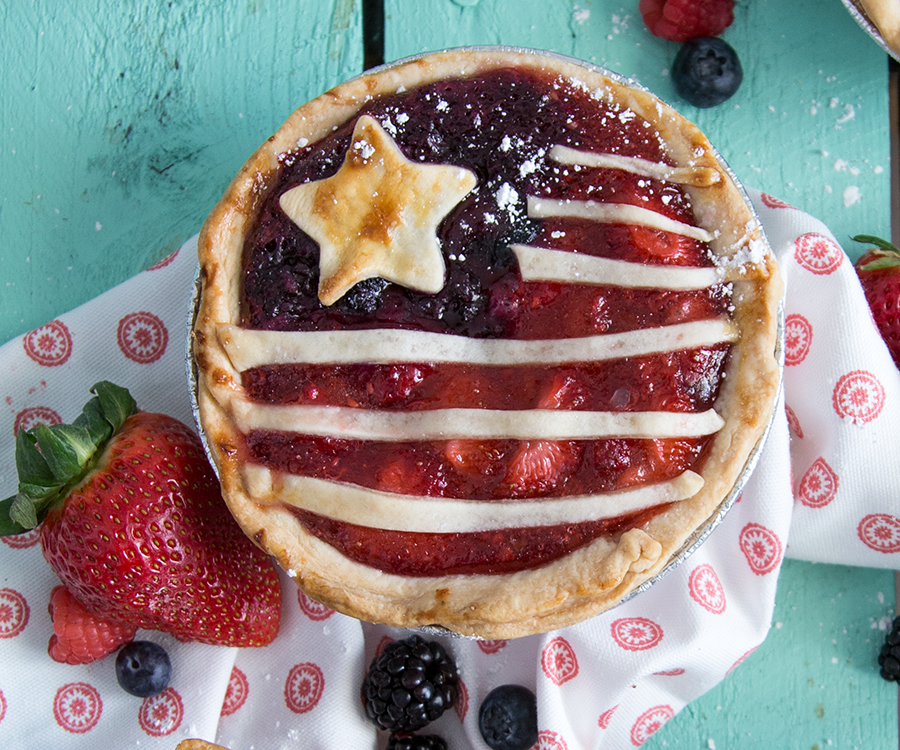 Red Berry & Blue Pies