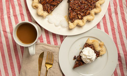 Pecan pie from the Pie Safe