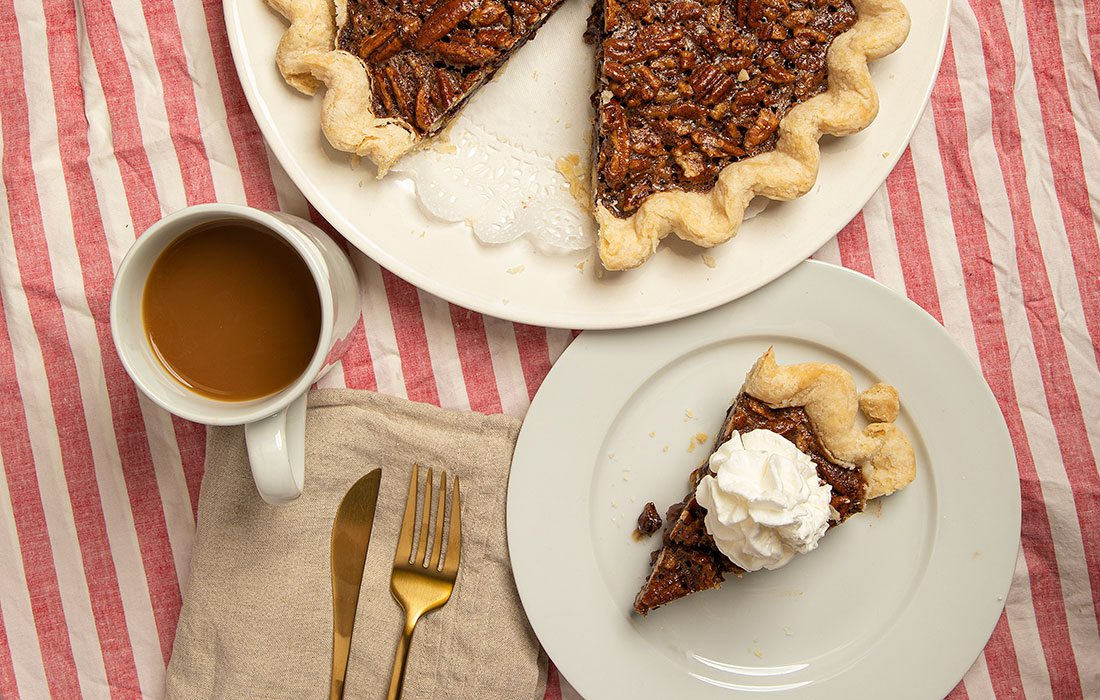 Pecan pie from the Pie Safe