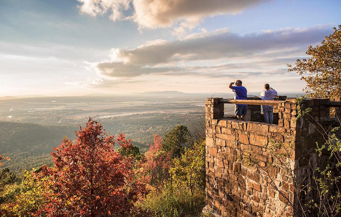 Petit Jean State Park lookout