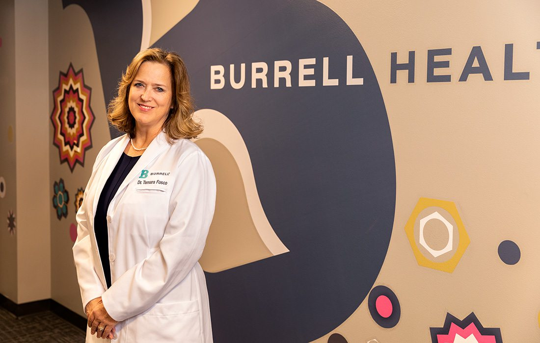 Tamara Fusco, M.D., F.A.A.P. of Burrell Behavioral Health