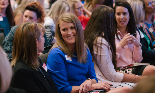 Attendees at Biz 417's Ladies Who Launch Women's Conference in 2019