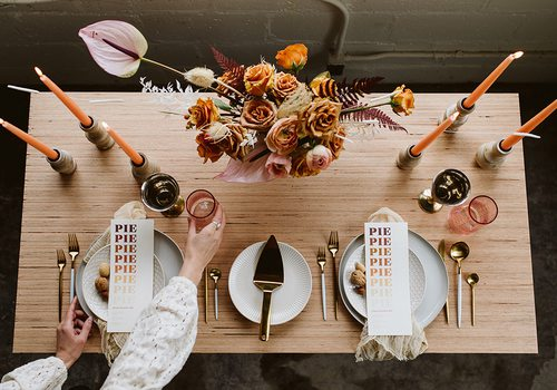 Tabletop design by Wildly Collective