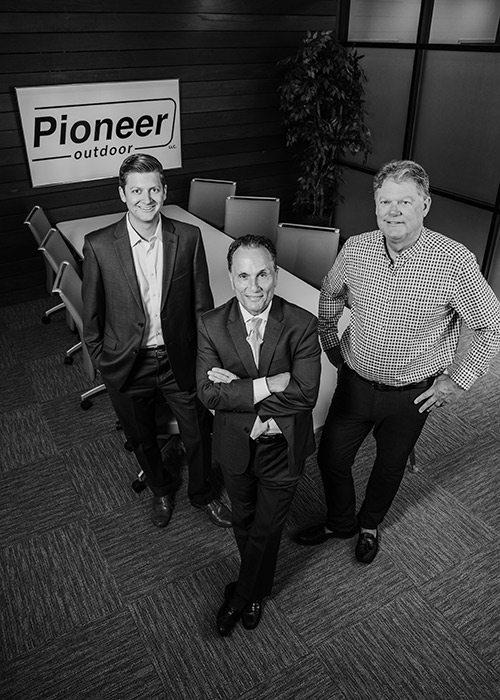 Stuart Lipscomb, Jeff LaRocca, Larry Lipscomb of Pioneer Outdoor in Springfield MO