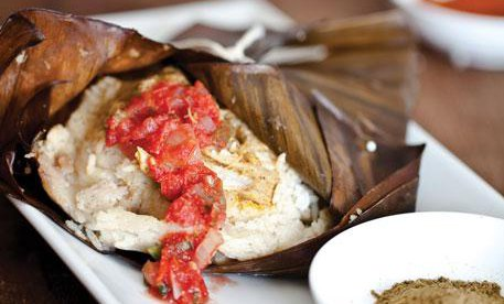 Pork Tamales from the Peruvian & South American Foods Catering