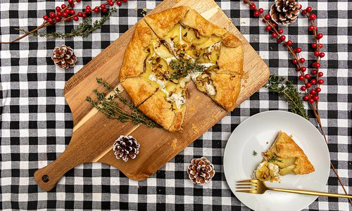 Potato, Leek and Goat Cheese Galette