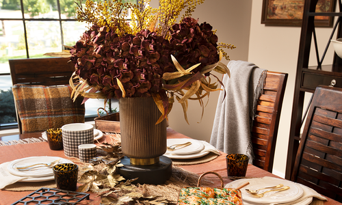 Fall table settings from home decor in Springfield MO