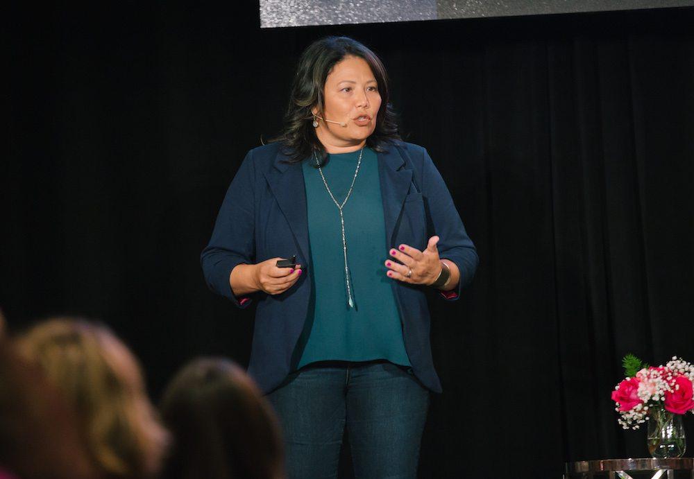 Priscilla McKinney speaks at Biz 417's Ladies Who Launch