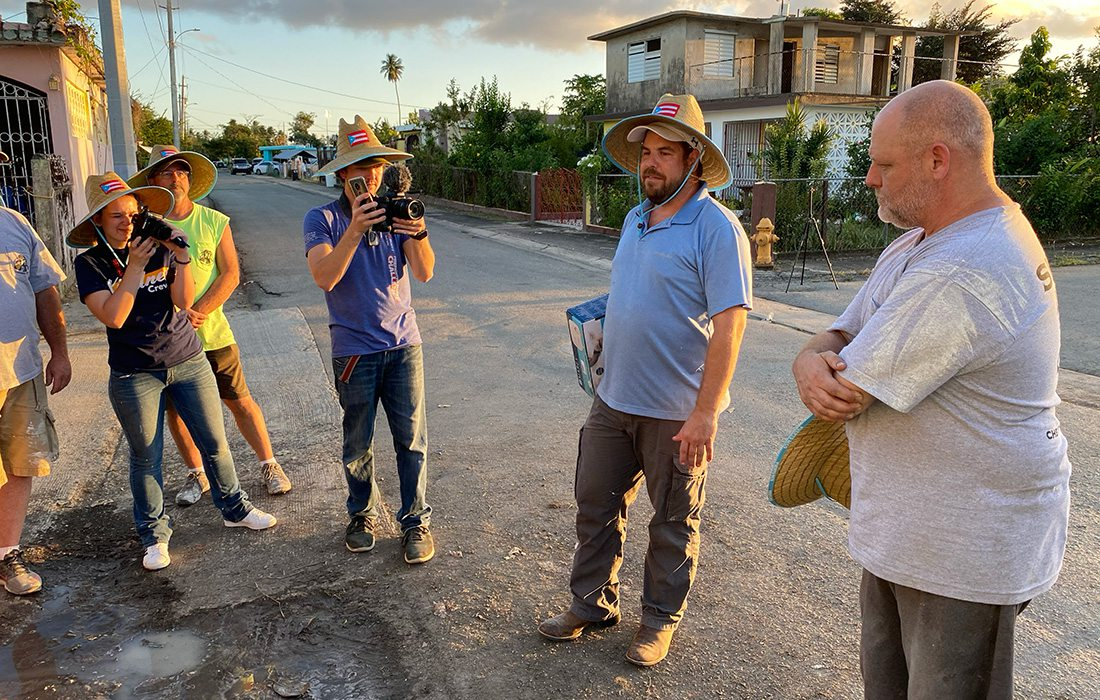 Branson members of the Puerto Rico Talent Attraction Program