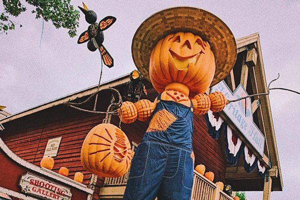 Pumpkin Nights attractions at Silver Dollar City