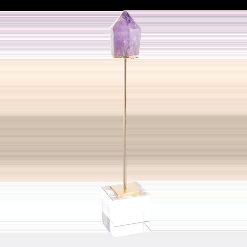 Purple Trend - Amethyst point sculpture