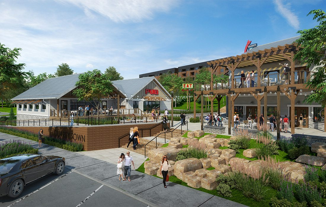 rendering of Quarry Town in springfield, MO