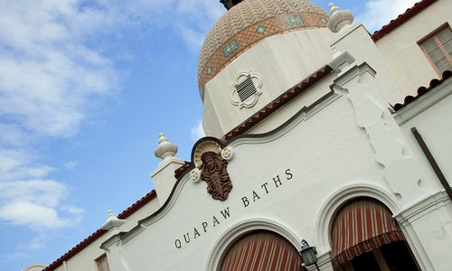Quapaw Baths and Spa in Hot Springs, AR