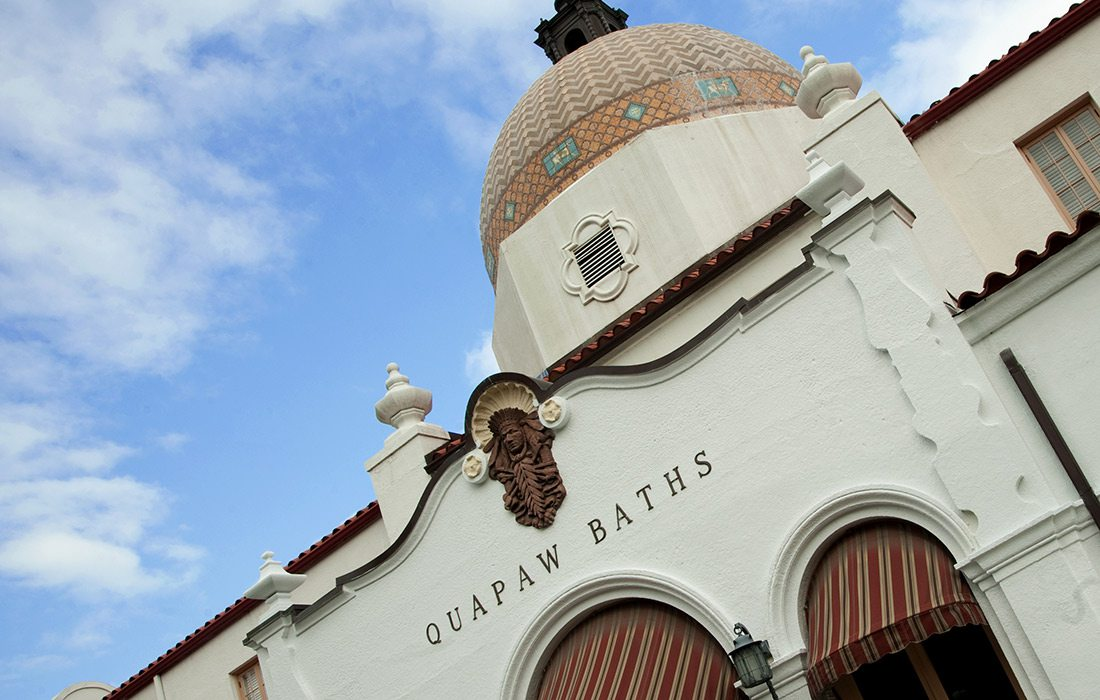 Quapaw Baths and Spa in Hot Springs, AR