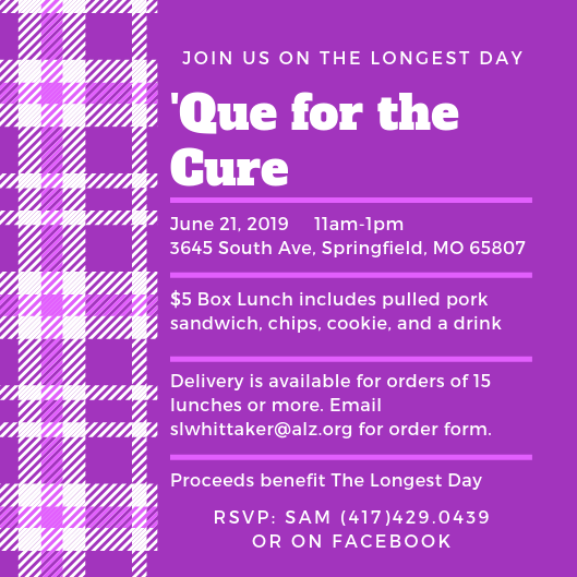 Attend the 'Que for the Cure in Springfield, MO