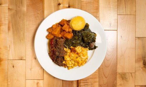 Photo of a dish from Queen City Soul Kitchen