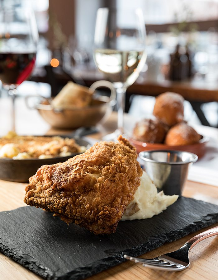 Queen City Wine Dive - Fried Chicken