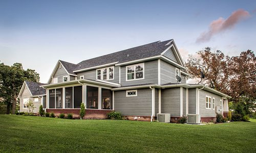 Modern farmhouse built by Ramsey Building Construction in Springfield MO