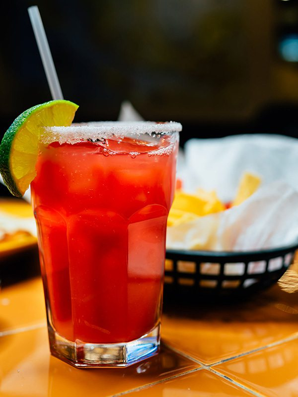 Raspberry Margarita at Maria's Mexican Restaurant