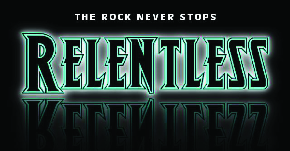 relentless band poster