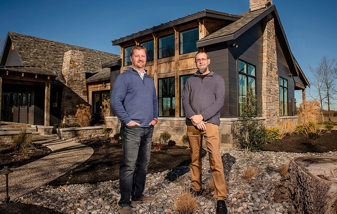 Nathan Rapp and Eric Albers of Insight Design Architects Nixa MO