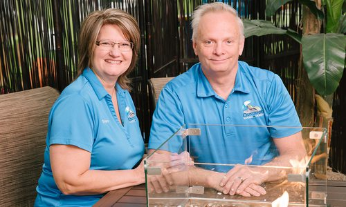 Sharon and Randy Renyer of Outdoor Rooms By Design in Kimberling City MO