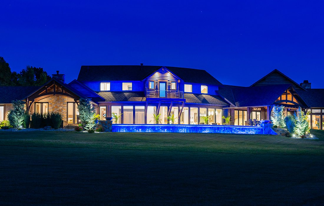 Custom home in southwest Missouri built by Construct