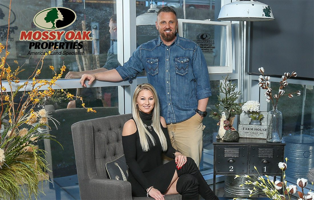 Tiffanie and Chad Shook of Mossy Oak Properties Branson MO