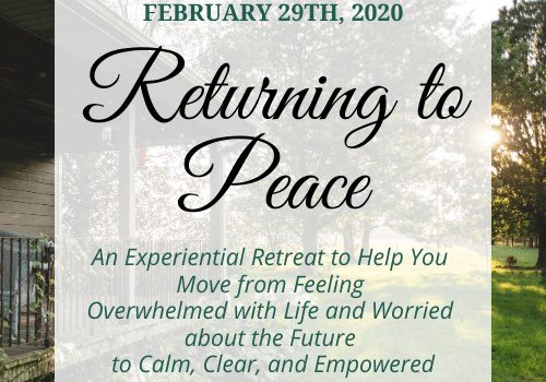 Returning to Peace