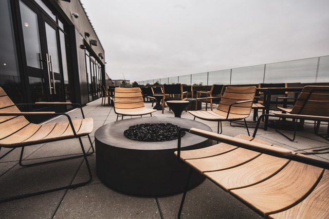 Reverie rooftop bar Springfield MO