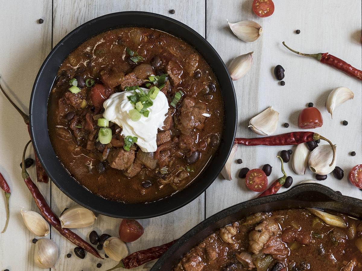 Ribeye Chili by Wes Johnson of Metropolitan Farmer.