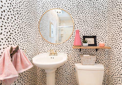 The Wallpaper that Transforms Powder Bathrooms