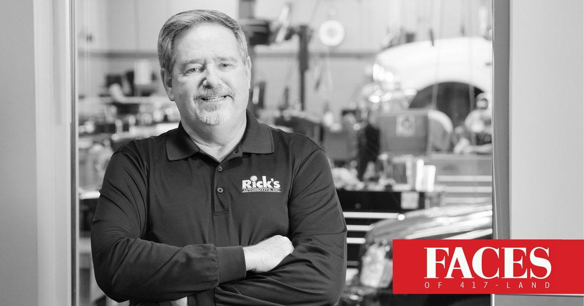 Rick's Hughlett of Rick's Automotive: 417 Magazine's Face of Automotive Services