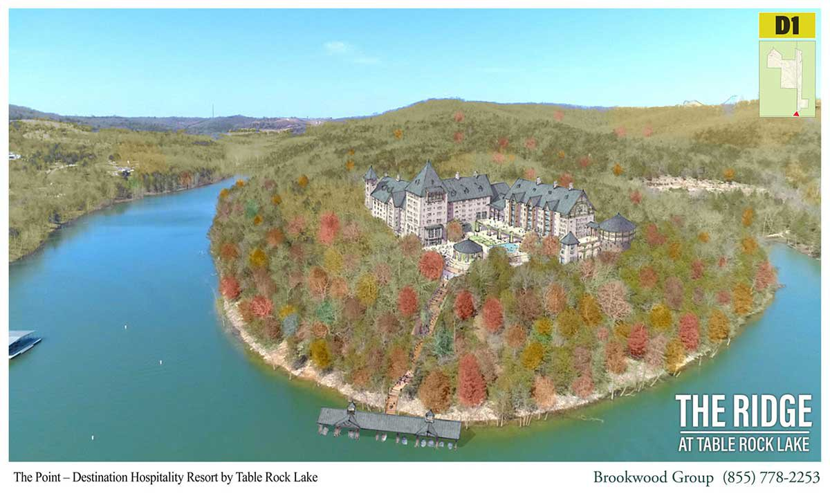 Ridge at Table Rock Lake renderings